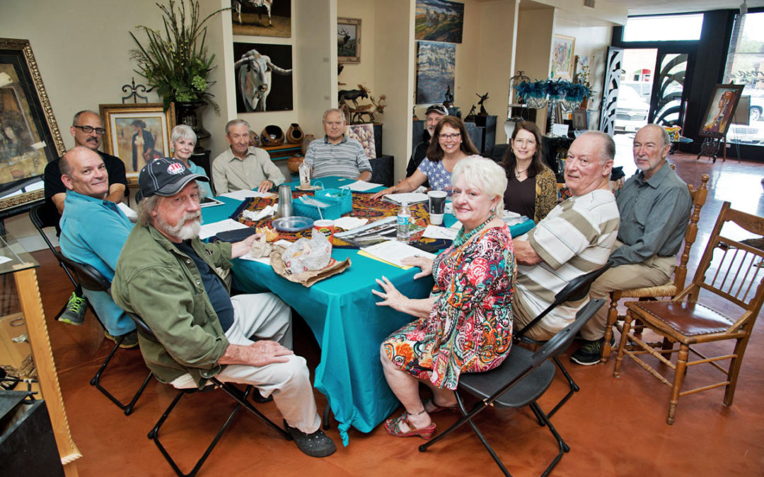 Artist Meeting at Valerosa Designs & Gallery
