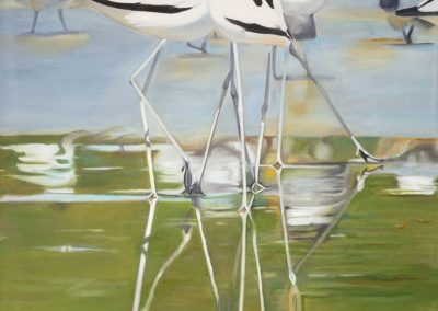 Strandlopers (Beach walkers) by Elaine Vorster